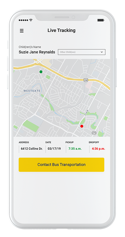school bus app tracker